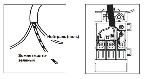 Схема подключения газовой варочной панели к электричеству