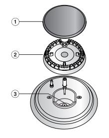 Схема горелки варочной панели